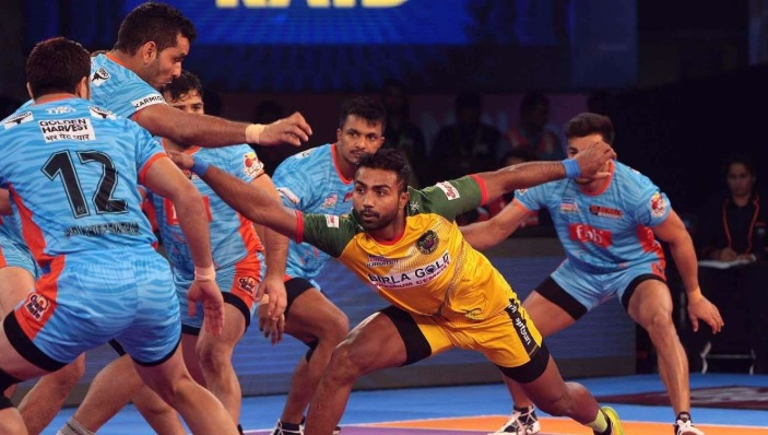 rules in the kabaddi game